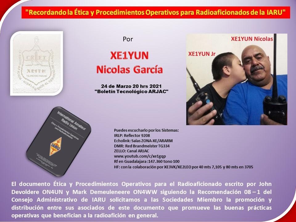 2021-03-25_recordando_la_Ética_y_procedimientos_operativos_para_radioaficionados_de_la_iaru